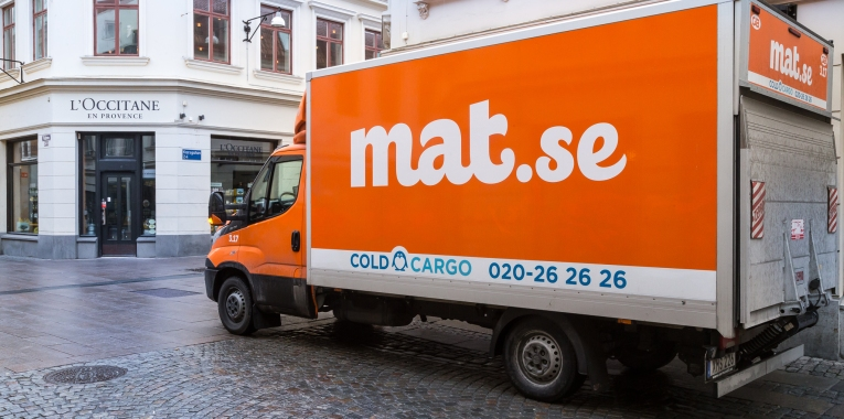 30 mars vi levererar vår 500.000:e order | Foto: Michael Krantz